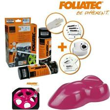 Spray Film Foliatec Kit 2 Aérosols de 400 ml Rose Brillant