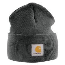 Carhartt - Casquette Acrylique - Gris Homme d'hiver Beanie Ski bonnet