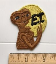ET The Extra Terrestrial Movie Alien Character Souvenir Embroidered Patch Badge