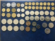 Lot de 59 pièces françaises dont 3 en argent