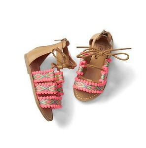 BABY GAP GIRL STRAPPY GLADIATOR SANDALS SHOES 7 8 9 10 11 NWT NNN