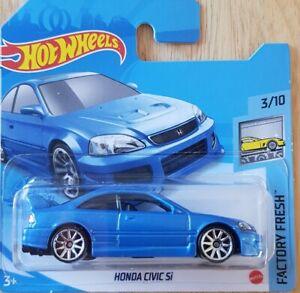 Hot Wheels Honda Civic Si 63/250 3/10 HW Factory Fresh Short Card 2021