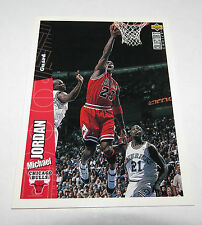 1996/97 Michael Jordan Bulls NBA Upper Deck English/German Base Card #23 Mint