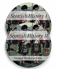 Scottish History Vintage Old Books Scottish Genealogy Clans Tartans Celt DVD 242