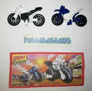 MOTOCROSS COMPLETE SET WITH ALL PAPERS KINDER SURPRISE EGG TOYS 2019/2020