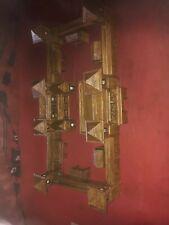 Modellbau BURG. Selbstbau Holz .Für Figuren gebaut 1/72. Einzelstück/ Bau