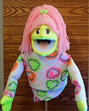 Large Blacklight Girl Puppet -Ministry, Entertainment, Education,Teachers-NEW