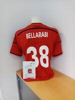 Bayer Leverkusen Trikot Bellarabi signiert mit Widmung Autogramm Fußball Größe L