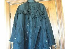 Black Size 10 Dunnes Dressy Rain Coat Brand New with Tags