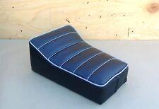"""10"""" x 7"""" BLACK/GREY GRAY MINIBIKE SEAT BOBBER SCOOTER MINI BIKE KEYSTONE AGGIE"""