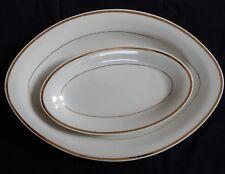 C'/ Plat ovale + ravier GEORGES BOYER Porcelaine de LIMOGES