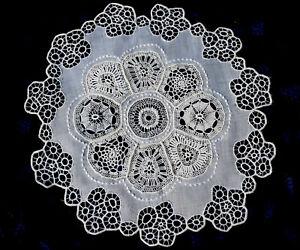 RARE Antique Traditional Hungarian embroidery lace HÖVEJ - HUNGARIKUM