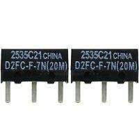 2x OMRON D2FC-F-7N(20M) Mikroschalter Microswitch Maustaster Maustaste Ersatz