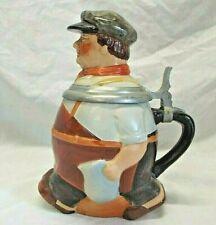 Vintage FIGURAL LIDDED BEER STEIN REINHOLD MERKELBACH HOHR-GRENZHAUSEN Germany