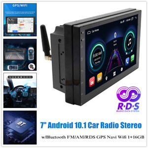 """7"""" 1+16GB Car FM Radio Stereo GPS Android Navigation Host AM RDS Reversing Image"""
