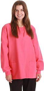 Just Love Womens Solid Jacket Uniform Coat