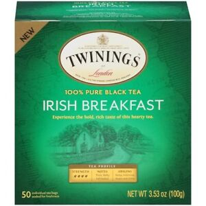 Twinings Of London Irish Breakfast Black Tea