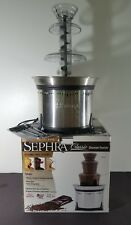 """Sephra Classic Stainless Steel 18"""" Fondue Chocolate Fountain CF18L-SST"""