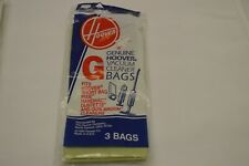 7 Pack Genuine Hoover Style G Vacuum Cleaner Bags NEW