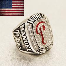 2008 Philadelphia Phillies Championship Ring #MANUEL World Series Size 11