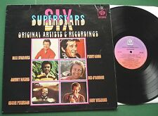 Six Superstars Max Bygraves Johnny Mathis Perry Como Andy Williams + CDC 1001 LP