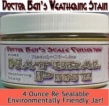 Natural Pine Weathering Stain-4oz Doctor Ben's Scale Consortium ots302