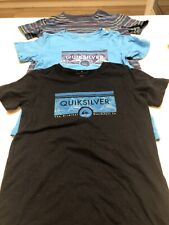 QUIKSILVER Boys T-shirt BUNDLE Size 7