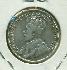 Canada 25 cents 1912 VG10