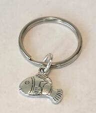 Clown Fish Keyring key ring key chain keychain Handmade In UK  Nemo