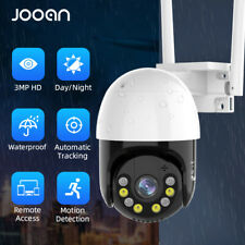 Jooan HD 1296P Wireless WiFi 4X ZOOM CCTV Outdoor IP Home Security Webcam Camera