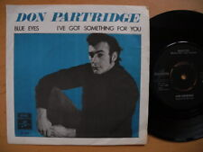 "DON PARTRIDGE Blue Eyes / I've Got Something For You 45 7"" single 1968 Sweden EX"