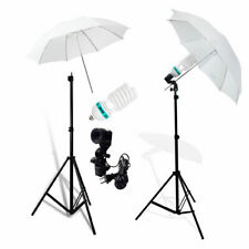 Umbrella Light Lamp Continuous Lighting Stand Kit for Photography Photo Studio