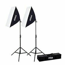 "Fovitec - 1x 20""x28"" Ez Setup Softbox Studio Video Photography Lights Kit"