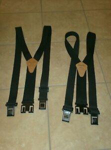 Lot 2 genuine Dickies Perry Suspenders black