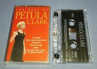 AVON PETULA CLARK THE BEST OF cassette tape album P192