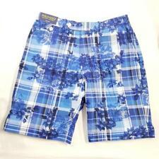 Polo Golf Ralph Lauren Men's Shorts Plaid FLoral Sz 32 Links Fit NWT $90