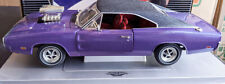 1970 Dodge Charger Street Machine 1:18 Diecast Car - Purple - ERTL