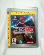 PS3 PES 2009 PRO EVOLUTION SOCCER