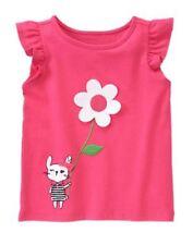 NWT Gymboree Daisy Park Pink Top Sz: 5T Bunny/Girl