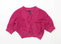 H&M Womens Size S Purple Sparkly Cardigan (Regular)