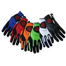New Zero Friction Golf Glove 6 Piece Bundle. Multi Color Pack.