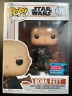 Funko Pop BOBA FETT 478 NYCC FALL CONVENTION EXCLUSIVE STAR WARS