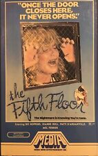 The Fifth Floor (Betamax-1983) Bo Hopkins-Diane Hull Horror/Thriller OOP Beta