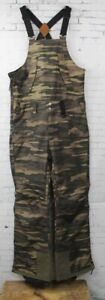 Dakine Men's Wyeast Bib Shell Snowboard Pants Large Field Camo New