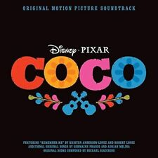 COCO - ORIGINAL MOTION PICTURE SOUNDTRACK CD (Disney / Pixar)