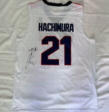 Rui Hachimura signed Gonzaga University basketball jersey Japan Wizards *PROOF*
