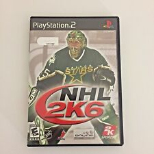NHL 2K6 Playstation 2 PS2 Video Game Tested CIB Complete in Box