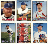 2016 Topps Heritage Baseball - Base Set Cards - Pick From Card #'s 1-425
