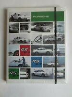 "orig."" Porsche Drivers Selection "" Notizblock,Porsche 911  RS,DIN A 4 ! NEU,OVP"