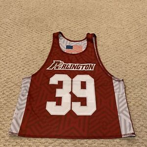 Arlington Lacrosse Reversible Lax Jersey Youth Boys Large 14-16